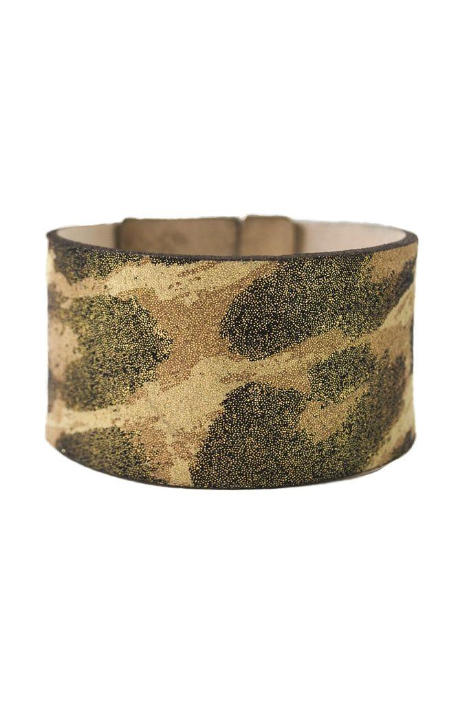 Gold Leopard Streets Ahead Bracelet