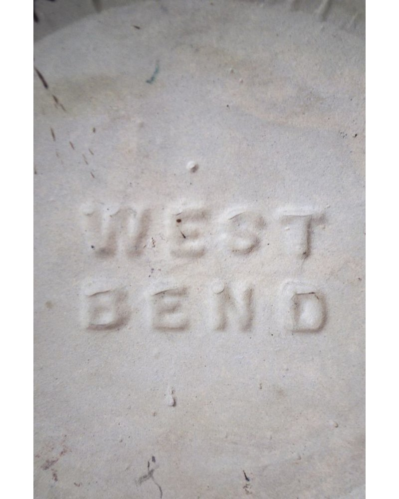 Vintage West Bend Crock Pot With Lid