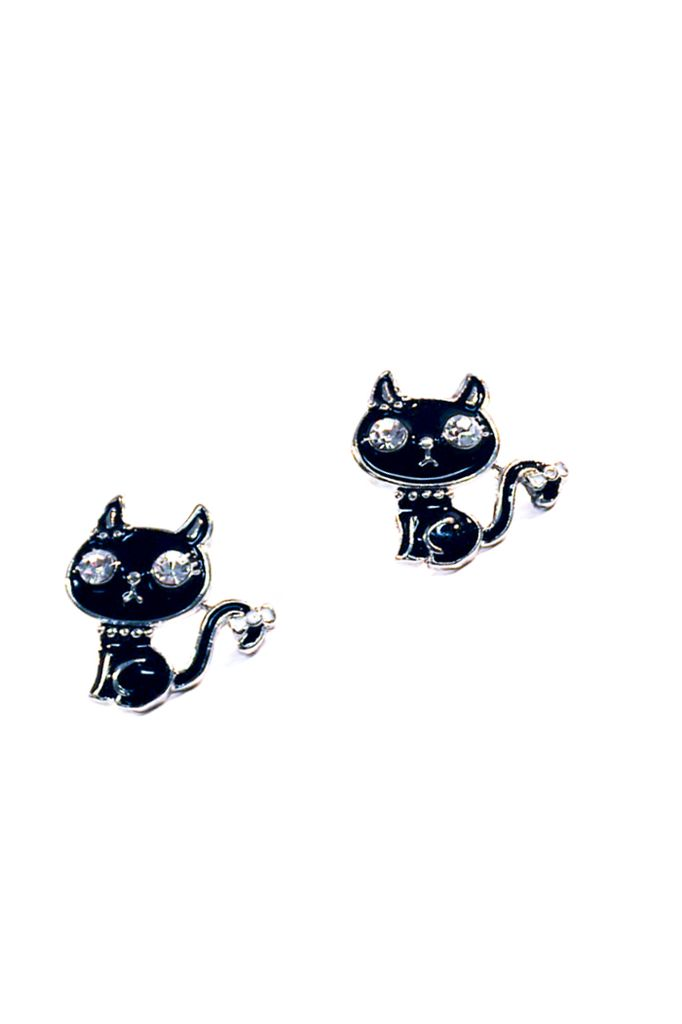 Hip Little Kitty Earrings