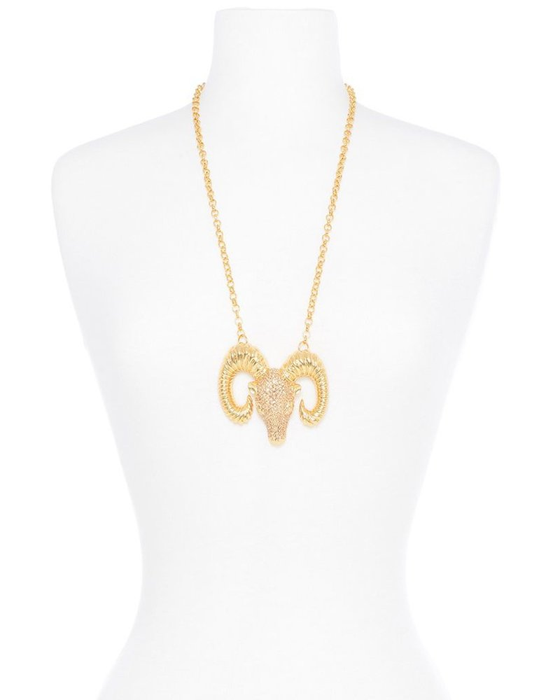 Ramification Necklace In Gold