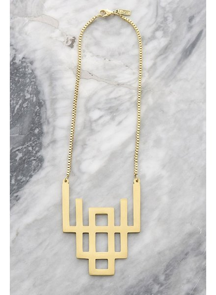 Geometric Rise Necklace