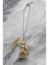 Toy Story Brass Warrior Necklace