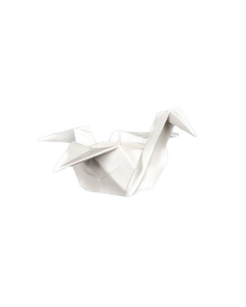 Origami Crane Tea-Lite Holder