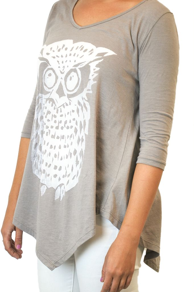 The Coin Owl Top In Steel