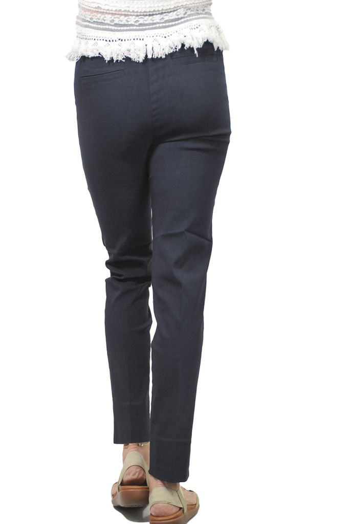 The Ankle Cigarette Magic Pant In New Midnight