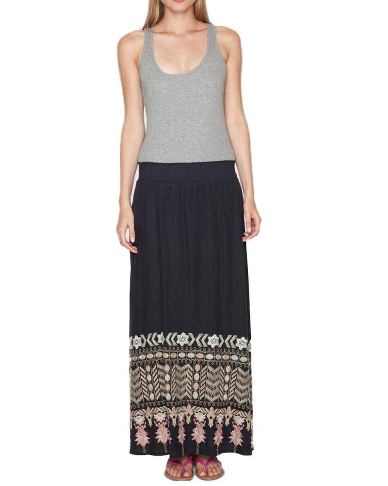 The Evan Maxi Skirt In Black