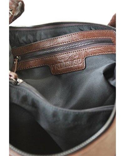 """Coffee"" Leather Handbag"