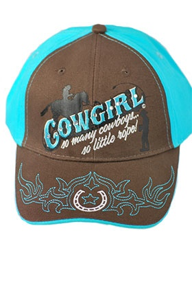 Cowgirl Ball Cap