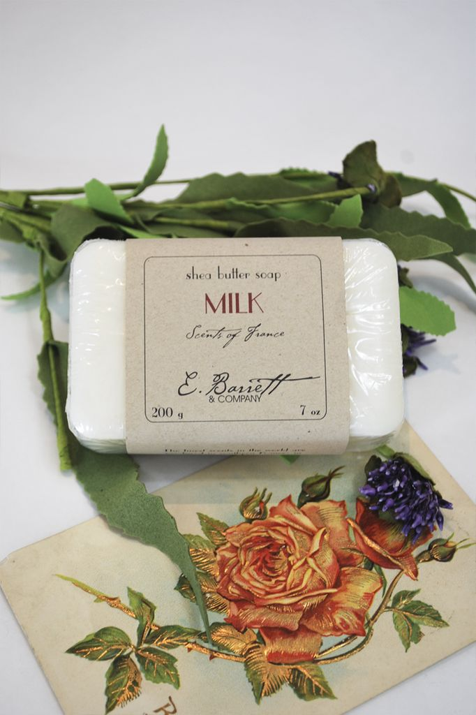Milk French Soap