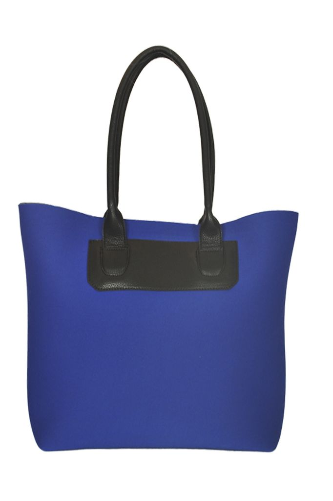 Neopreen Tote Bag In Colbalt Blue