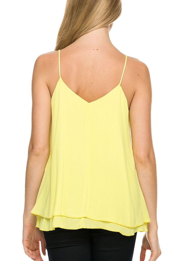 Double Cami In Yellow
