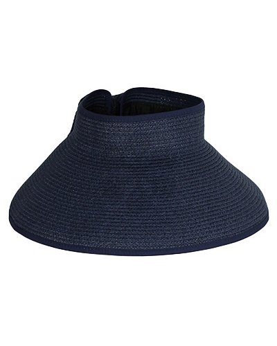 Travel Sun Visor In Navy