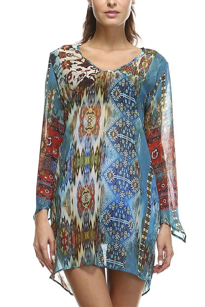 The Taj Tunic In Hippie