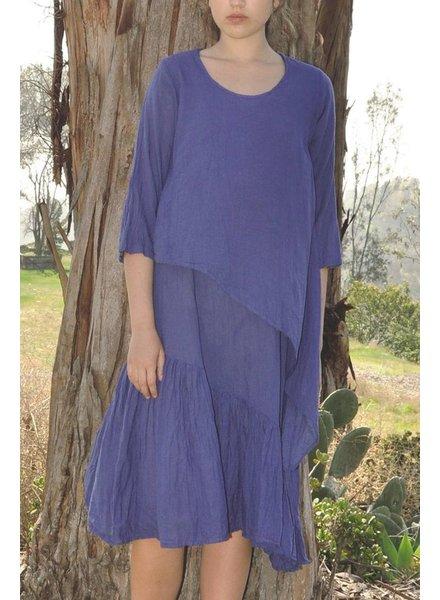 The Sandra Dress In Lapiz