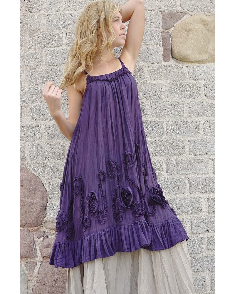 The Leticia Dress In Purple