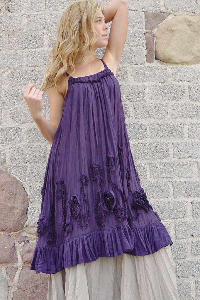 The Leticia Dress In Purple