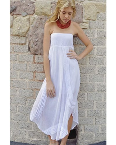 Bedhead Skirt Dress In White