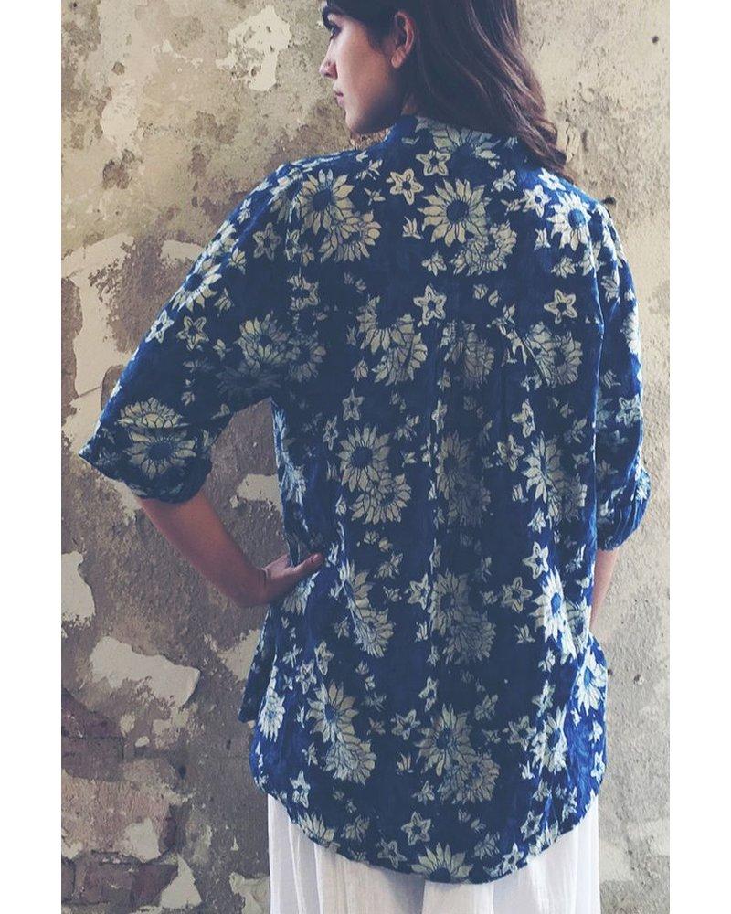 The Artist Shirt In Indigo