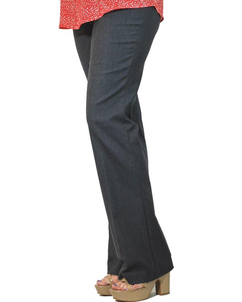 The Straight Leg Magic Pant In Indigo