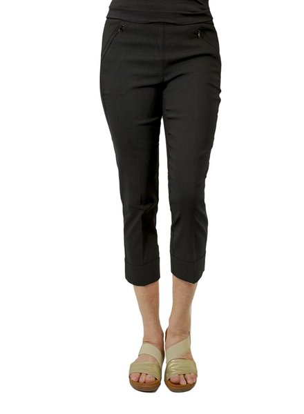 Renuar Magic Mid-Calf Capri In Black