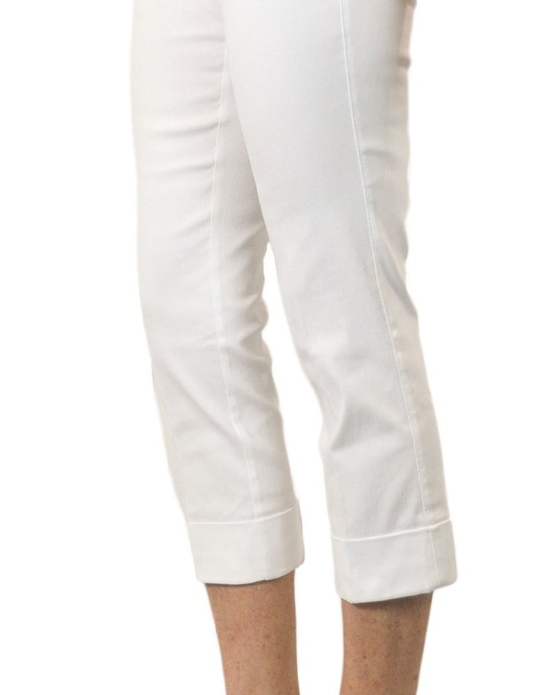 Magic Mid-Calf Capri In White