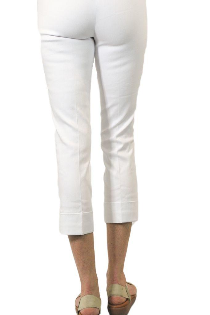 Magic Mid-Calf Capri In White