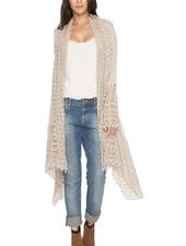 Johnny Was Antoinette Crochet Jacket In Grain
