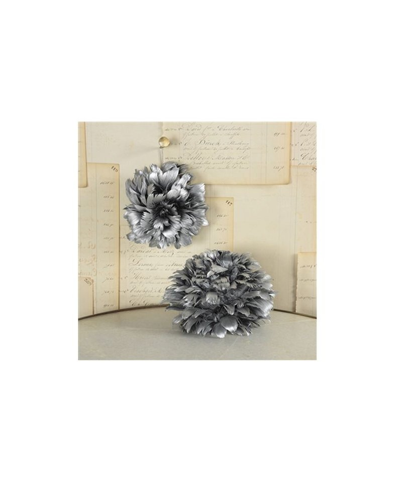 Small Feather Pomander Balls
