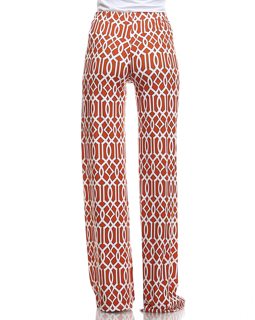 Lounge Pants In Coral