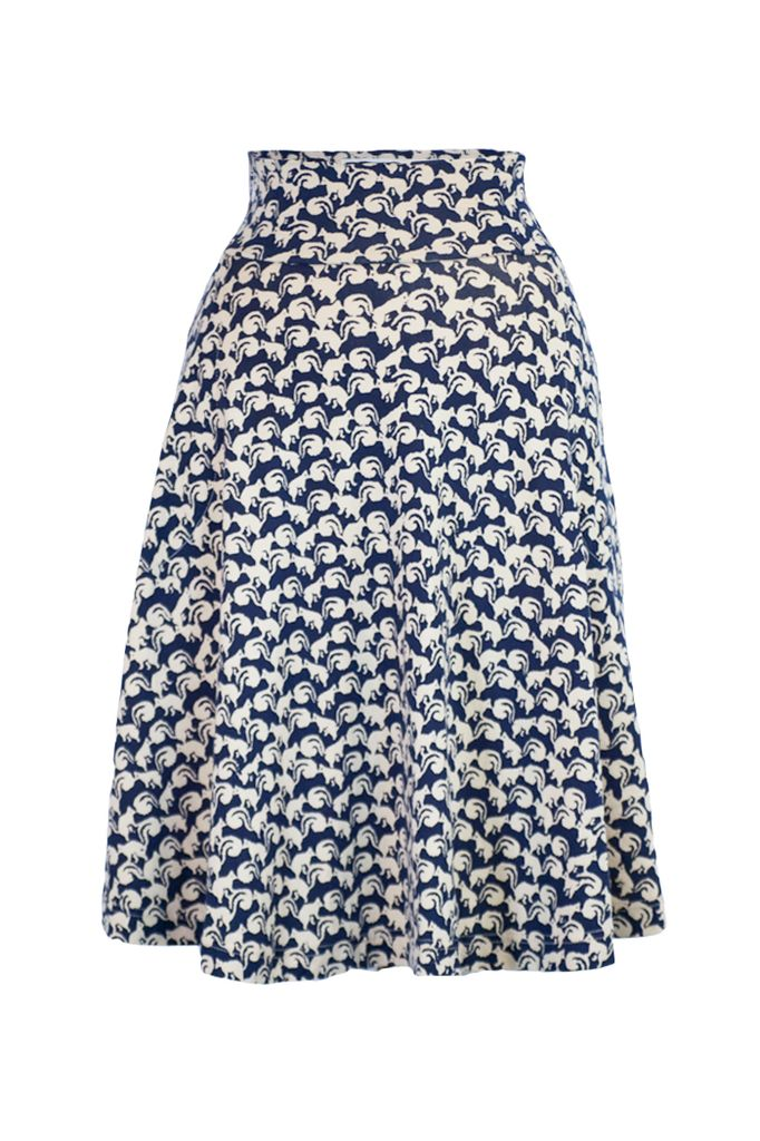 The Carnaby Skirt In Chipmunk