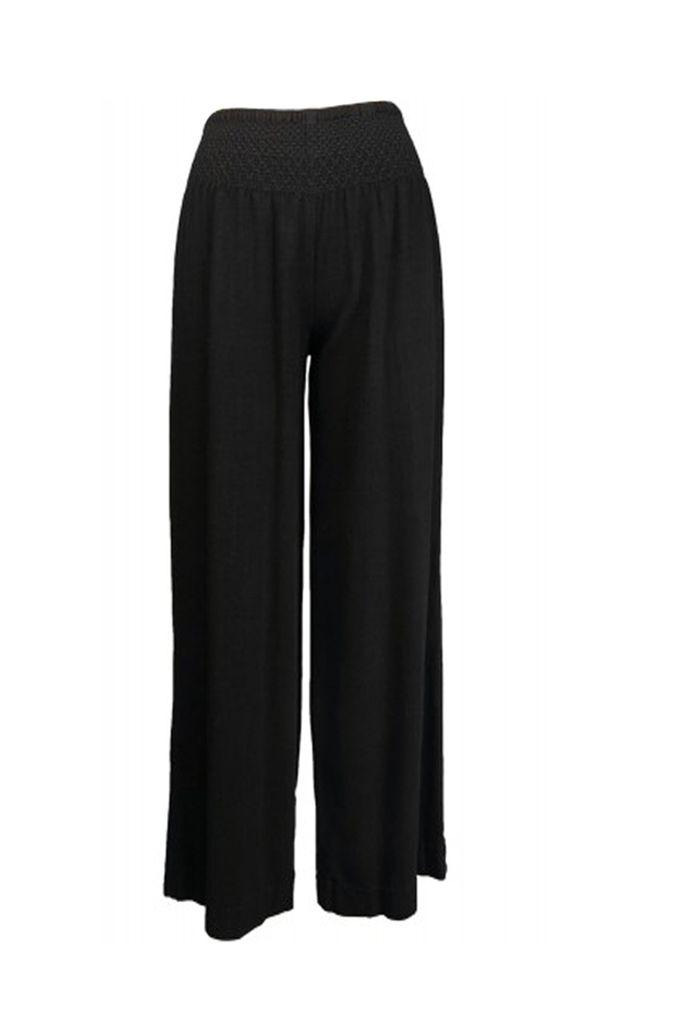 Ivy Jane's Smocked Waist Pant In Black