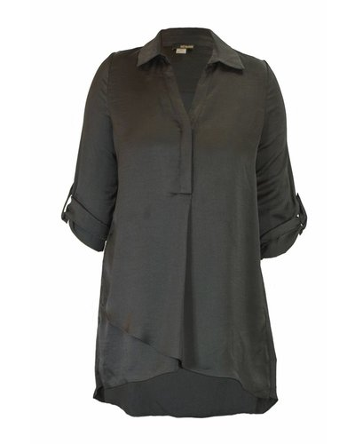 Soft And Beautiful Blouse In Black