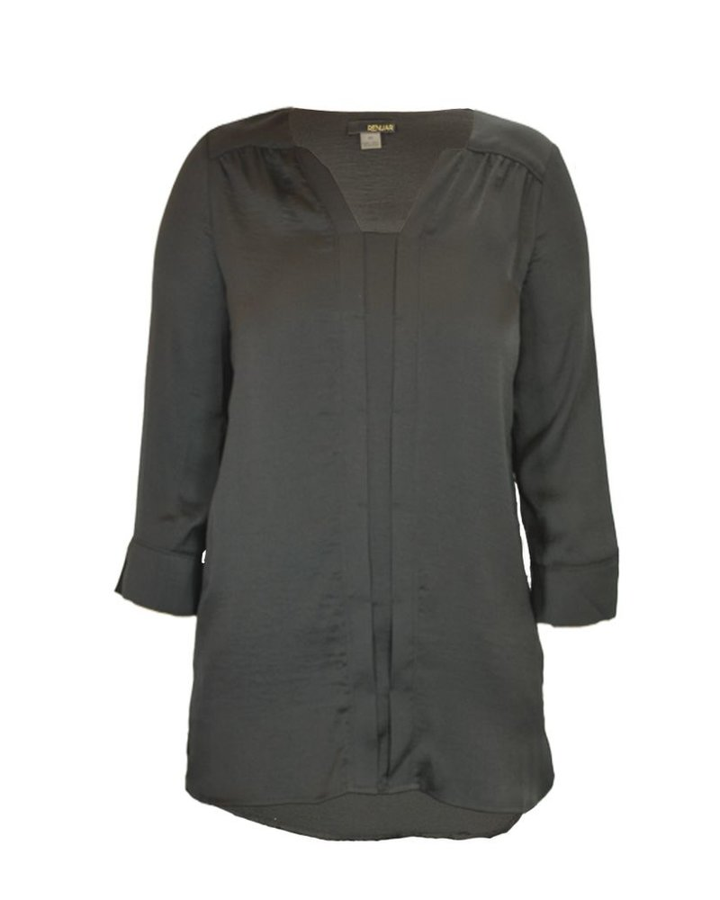 Beautiful Air Flow Blouse In Black