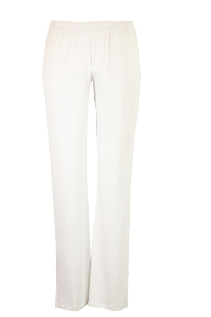 Comfy Narrow Pants In White