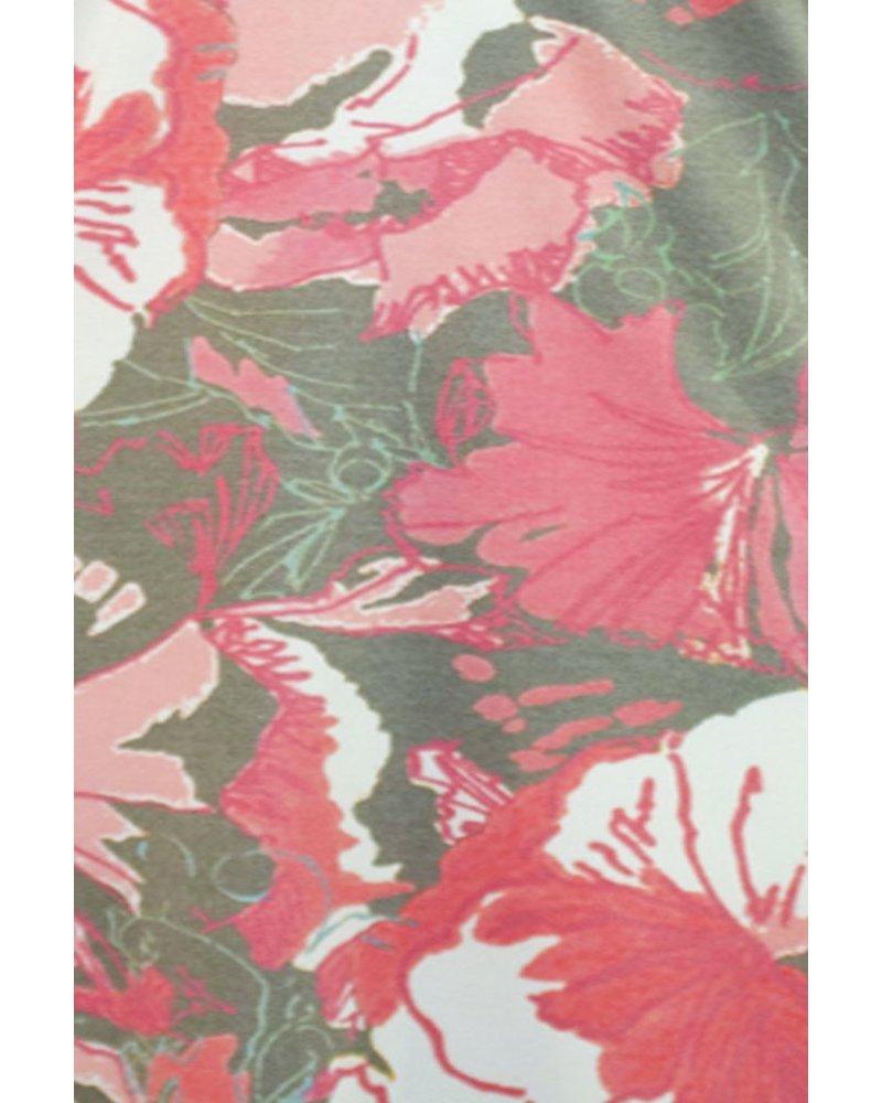 Pink Hybiscus Dress