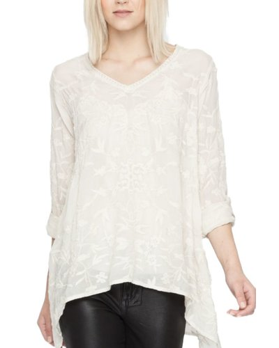 Johnny Was Lonny Hankerchief Tunic In Shell Shady And Katie