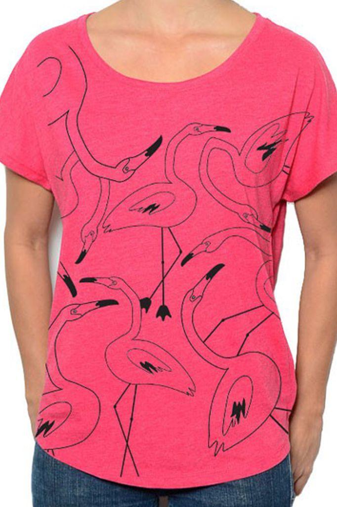 Flamingo Flock In Hot Pink