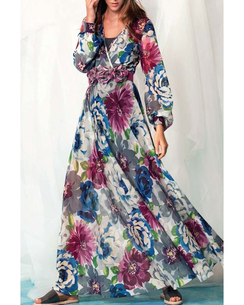 Petit Pois' Long Dress In New Life
