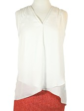 Soft And Sleeveless In White