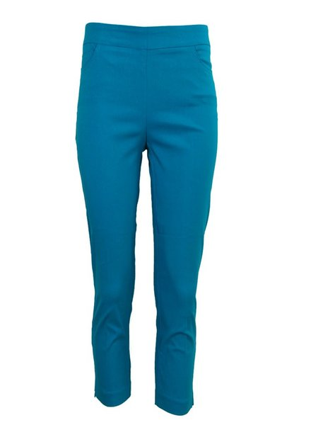 Renuar Magic Capri Pant In Aqua