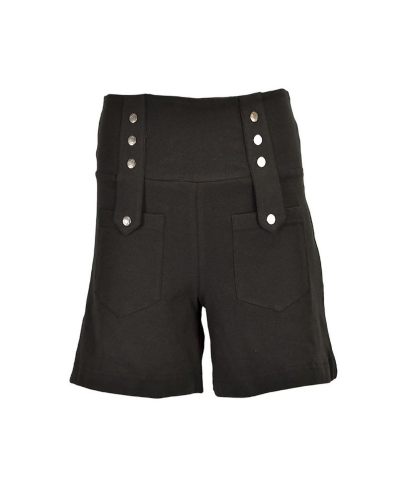 The Expatriate Shorts In Black