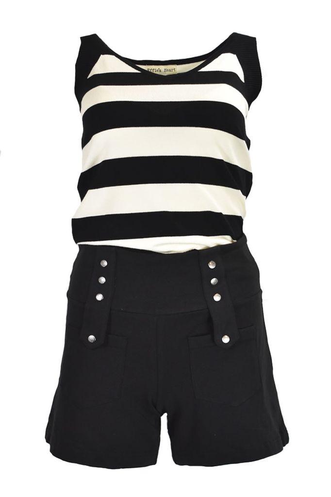 The Expatriate Shorts In Black
