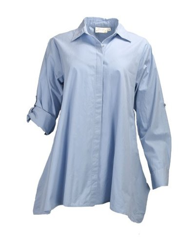 Flare Cotton Shirt