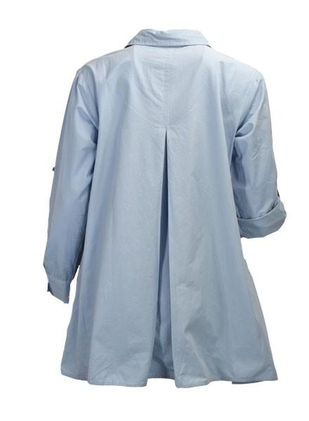 Flare Cotton Shirt