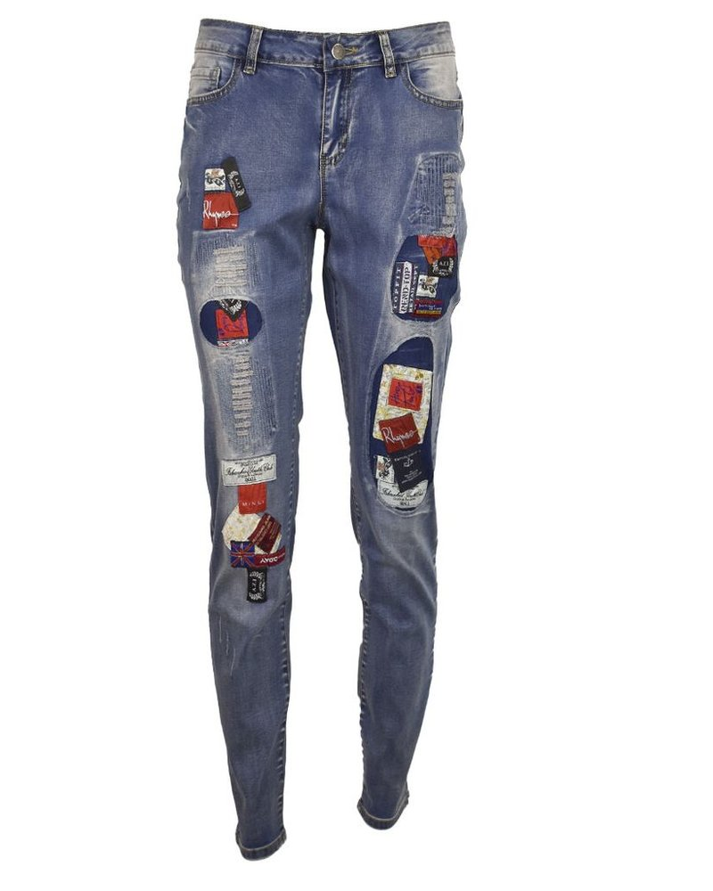 Rock'in The Patch Ankle Jean
