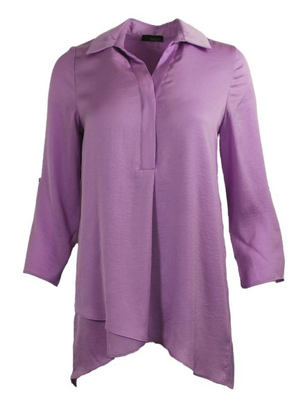 Soft And Beautiful Blouse In Violet