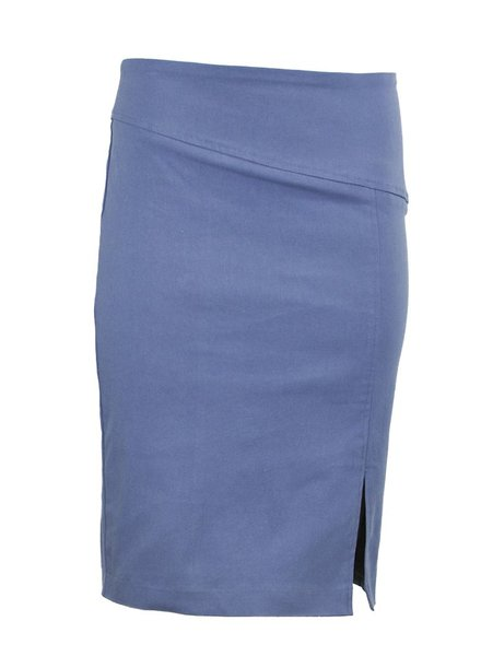 Renuar Magic Skirt In Blueberry