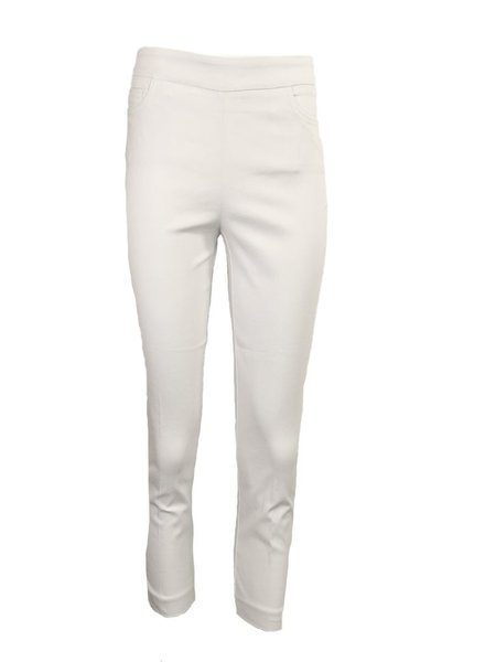 Renuar Magic Capri Pant In White