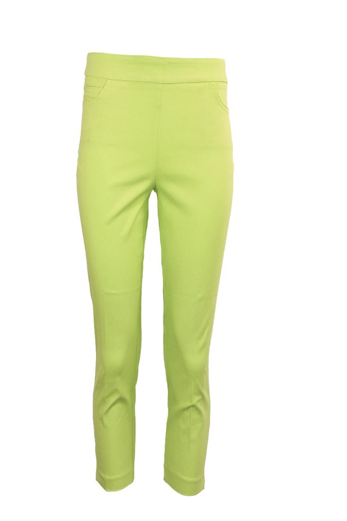 Magic Capri Pant In Limette