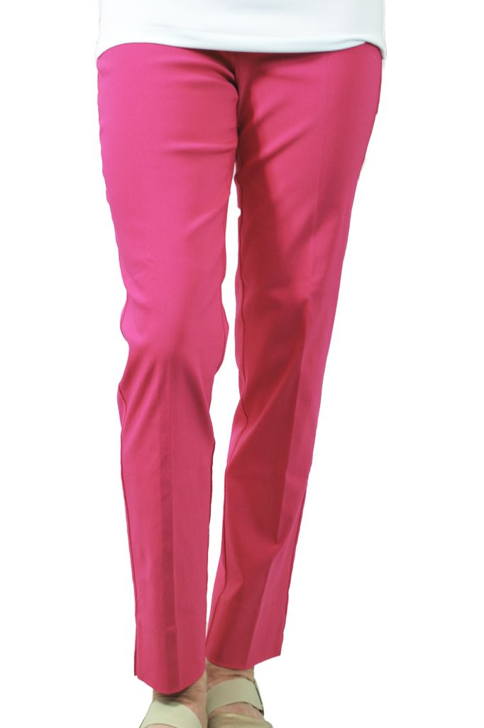 The Ankle Cigarette Magic Pant In Magenta